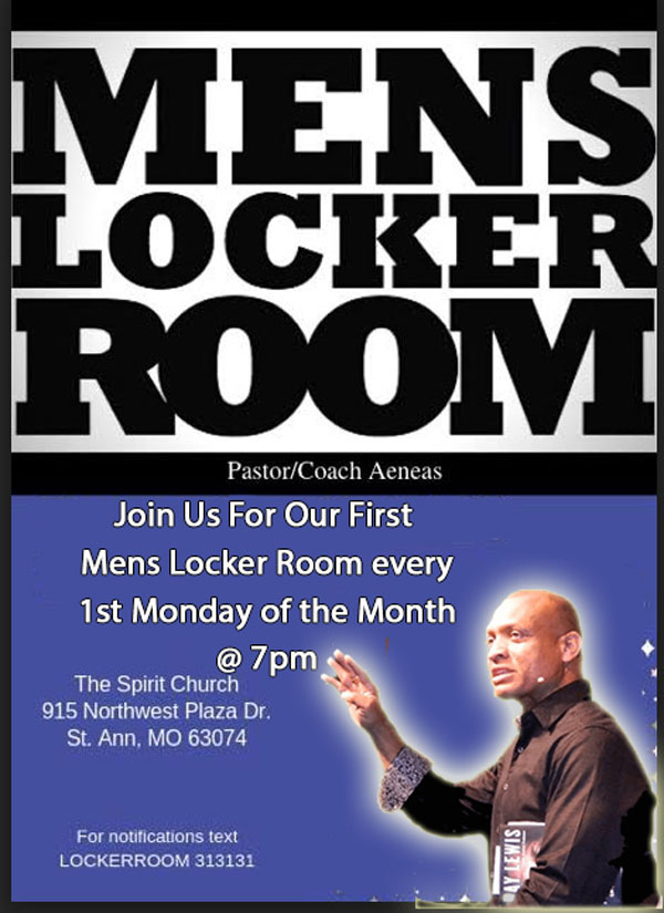 Mens Locker Room @ The Spirit Church